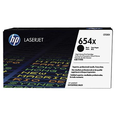 HP 654X black high-cap toner Original HP CF330X