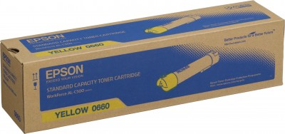 Epson S050660 yellow toner ORIGINAL