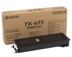 Kyocera TK-675 black toner ORIGINAL