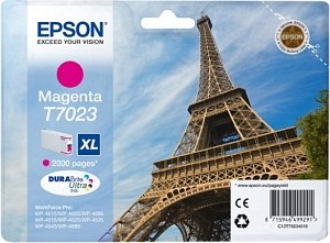 Epson T7023 Magenta Ink Cartridge XL High Yield Original