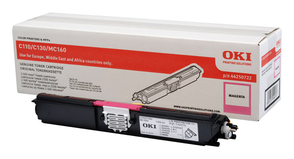 OKI 44250722 magenta high-cap toner original