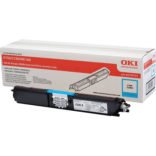 OKI 44250723 cyan high-cap toner original