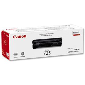 Canon i-Sensys LBP6000 Black Toner Original Canon 725 Toner
