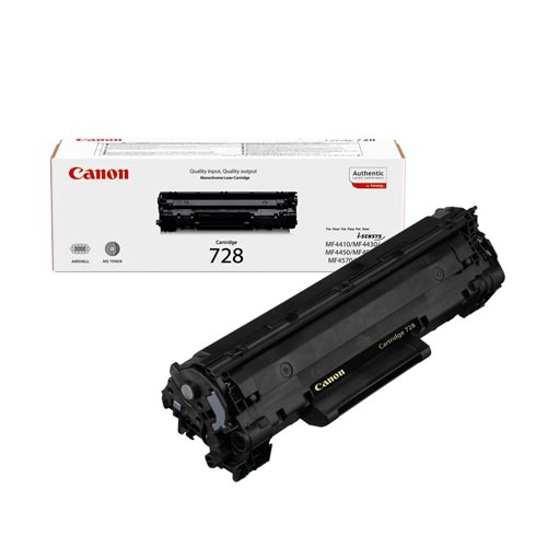 Canon 728 black toner original