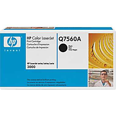 HP Q7560A black toner ORIGINAL - HP 314A Black Toner Original