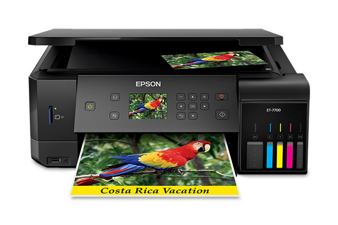 Epson Eco Tank ET-7700 Printer