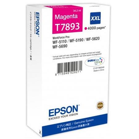 Epson T7553 high capacity magenta ink cartridge Original