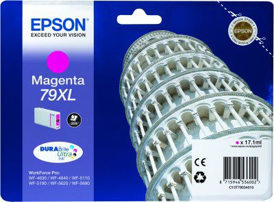 Epson 79XL high capacity magenta ink cartridge original Epson T7903