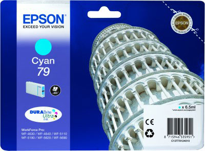Epson T7912 cyan ink cartridge original Epson 79