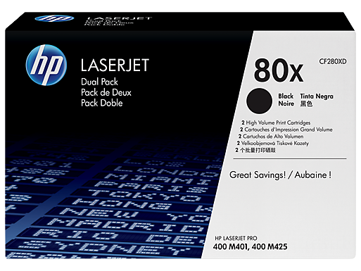 HP 80X high-cap black toner original