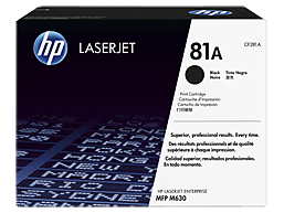 HP 81A CF281A black toner Original HP