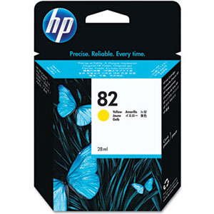 Hp 82 Yellow ink Cartridge Original