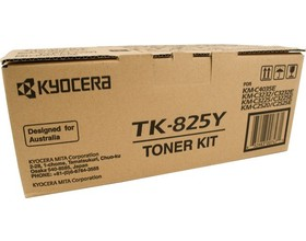 Kyocera TK-825Y yellow toner original