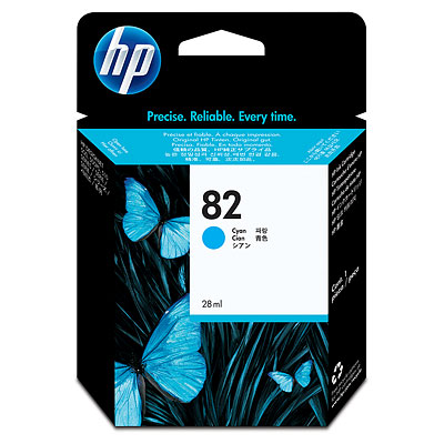Hp 82 Cyan Ink Cartridge Original