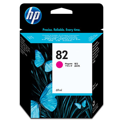 HP 82 Magenta Ink Cartridge Original