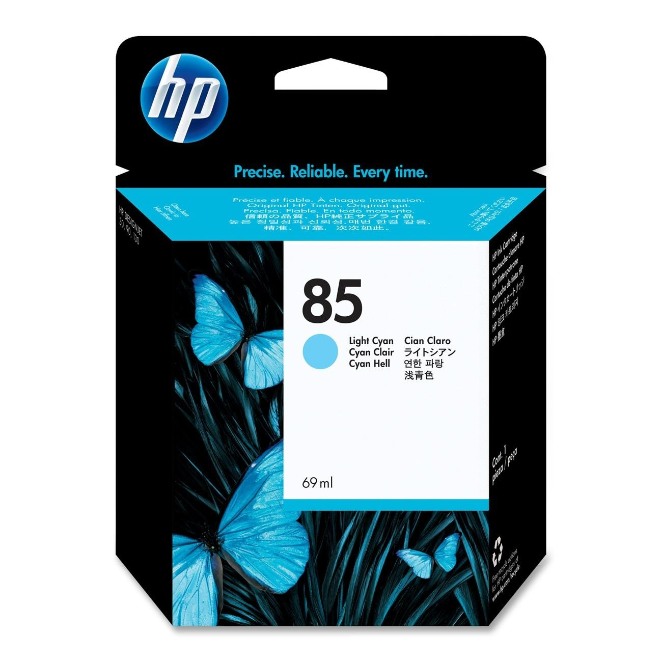 Hp 85 Light Cyan Ink Cartridge Original