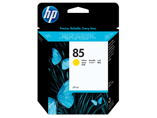 Hp 85 Yellow Ink Cartridge Original