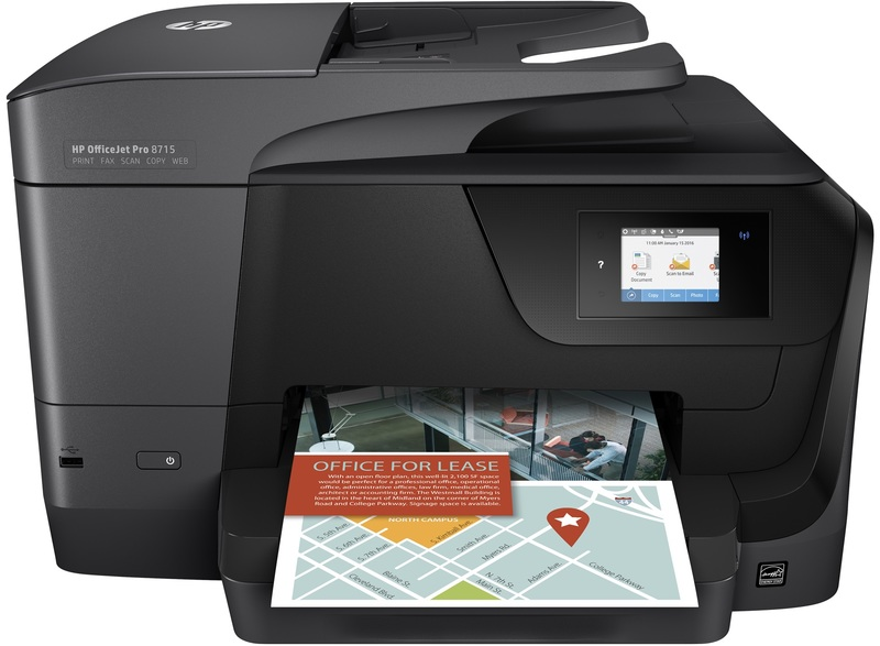 HP OfficeJet Pro 8715 All-in-One Printer A3 Printer