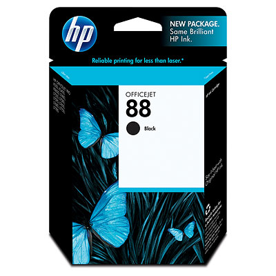 Hp 88 Black ink Cartridge Original