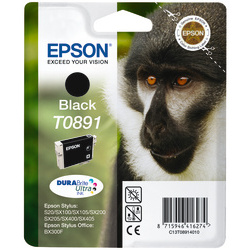 Epson 891 Black Ink Cartridge Original