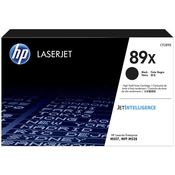 HP 89X CF289X high capacity black toner original