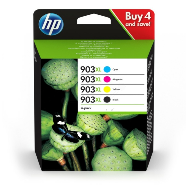 HP 903XL Original 4 Pack Ink Cartridges