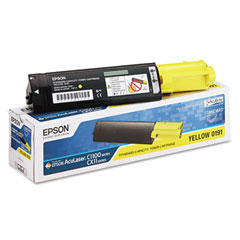 Epson S050191 yellow toner ORIGINAL