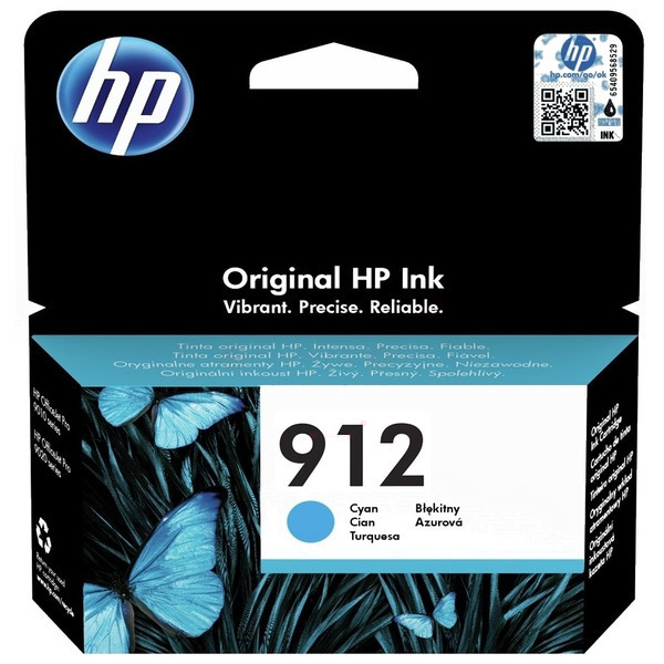HP 912 cyan ink cartridge original
