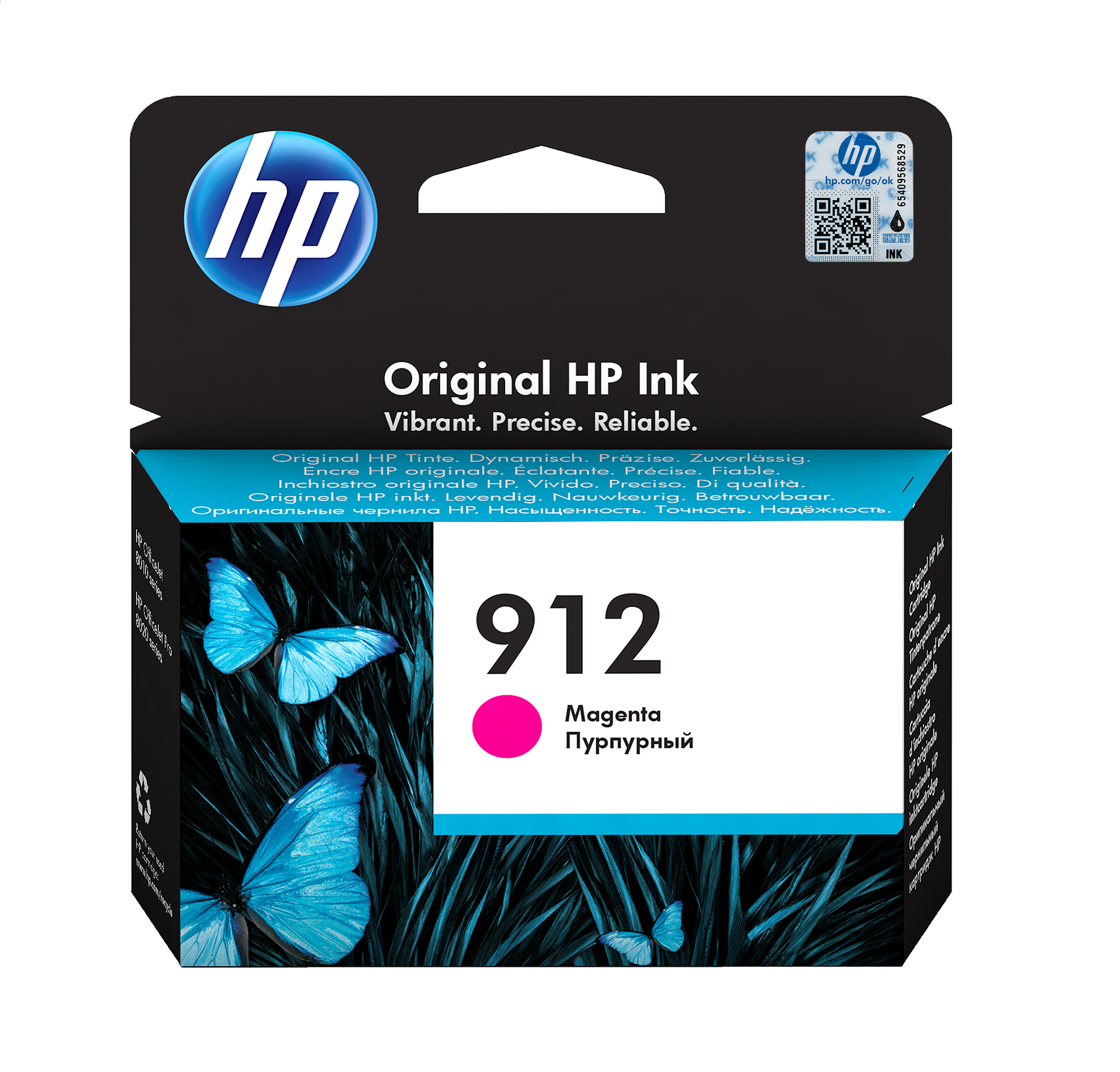 HP 912 magenta ink cartridge original