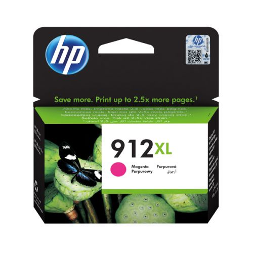 HP 912XL high capacity magenta ink cartridge original