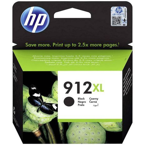 HP 912XL High capacity black ink cartridge original