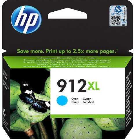 HP 912XL high capacity cyan ink cartridge original