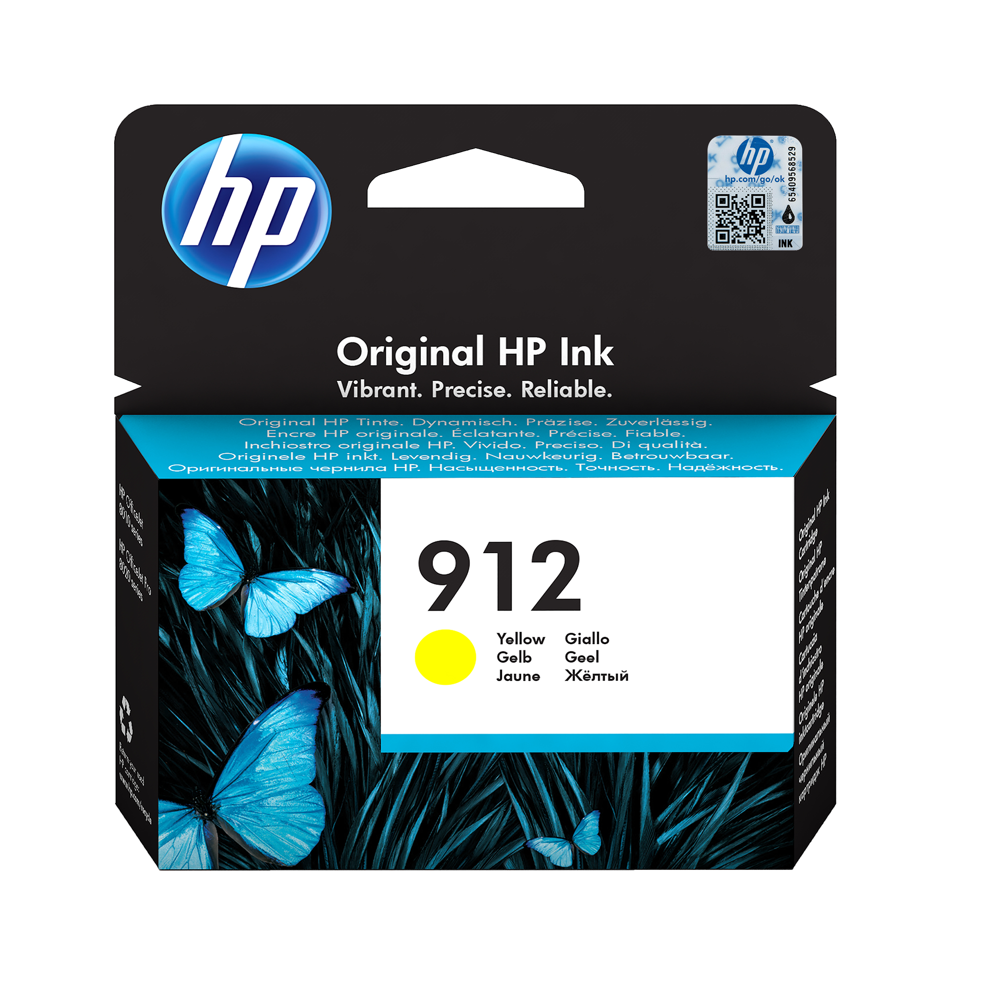 HP 912 yellow ink cartridge original