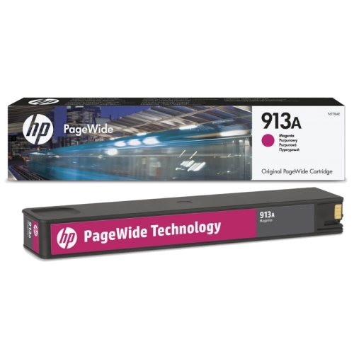 HP 913A magenta ink cartridge original HP