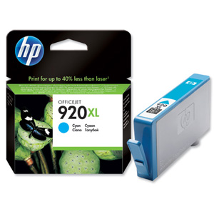 Hp 920 Cyan Ink Cartridge Original XL
