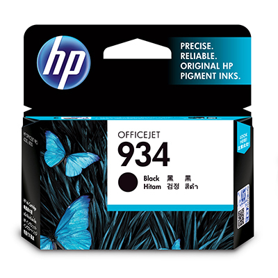HP 934 C2P19AE black ink cartridge original HP