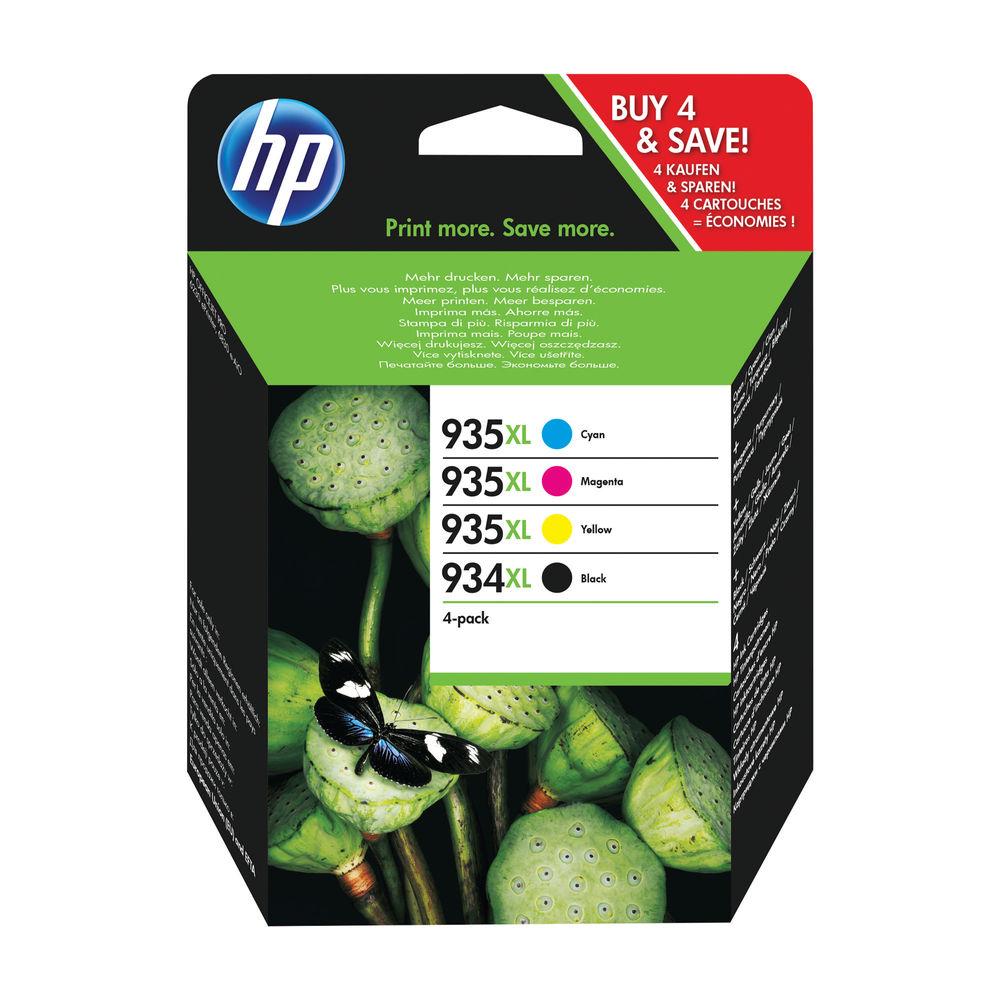 HP 934XL and 935XL High Yield CMYK Original Ink Cartridge