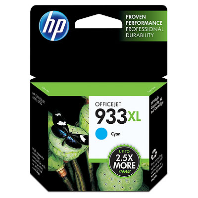 HP 933XL Cyan high-cap cyan ink cartridge ORIGINAL