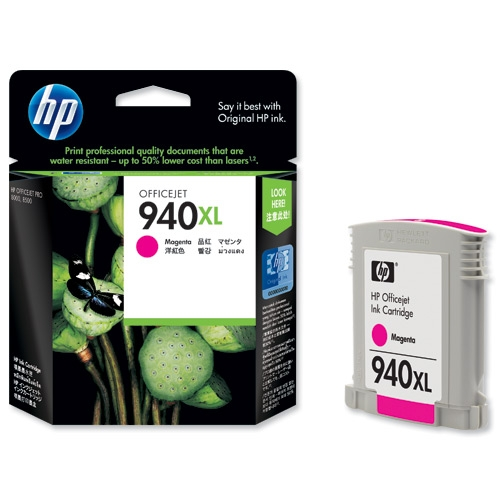 Hp 940 Magenta XL Ink Cartridge Original