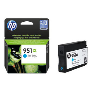 HP 951XL Cyan Ink Cartridge Original