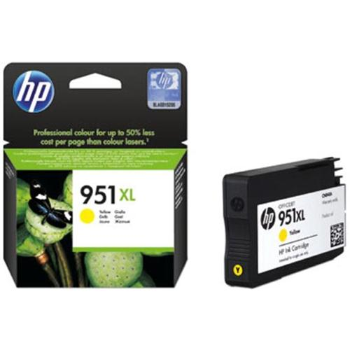 Hp 951 Yellow Ink Cartridge Original XL