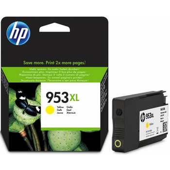 HP 953XL yellow ink cartridge high capacity original