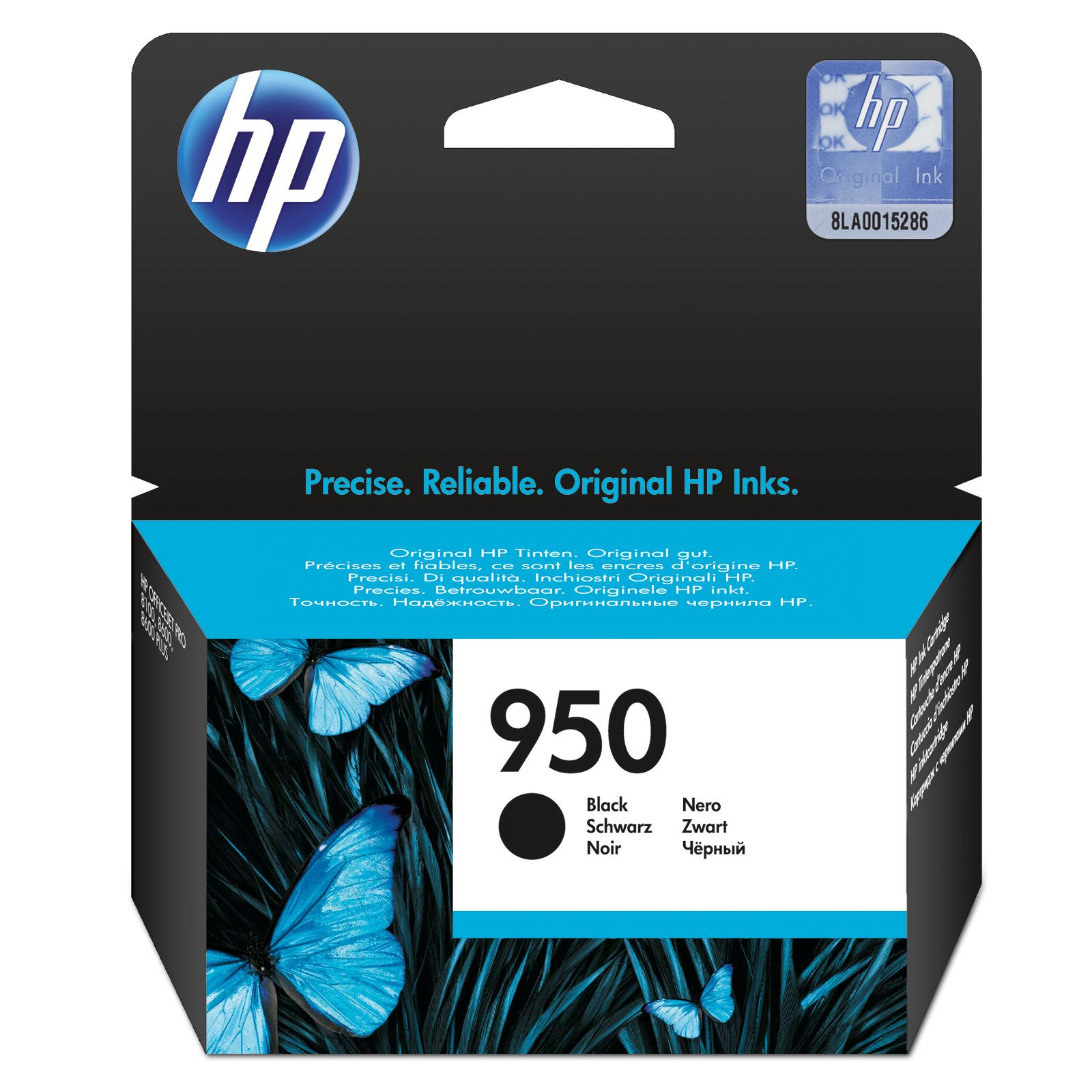 Hp 950 Black Ink Cartridge Original
