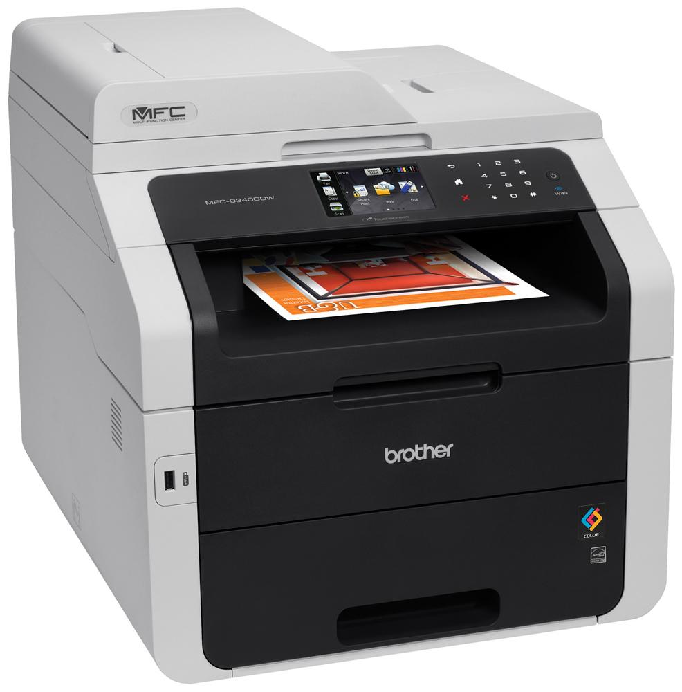 Brother MFC-9340CDW Colour 4-in-1 Laser Printer Duplex Wireless