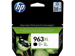 HP 963XL high capacity black ink cartridge original