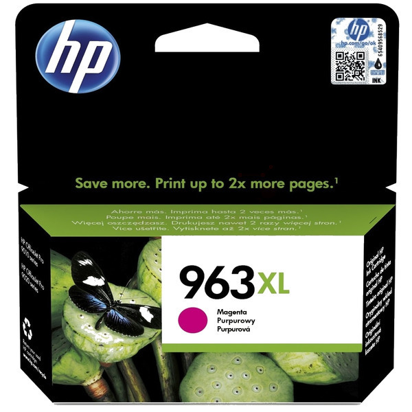 HP 963XL high capacity magenta ink cartridge original
