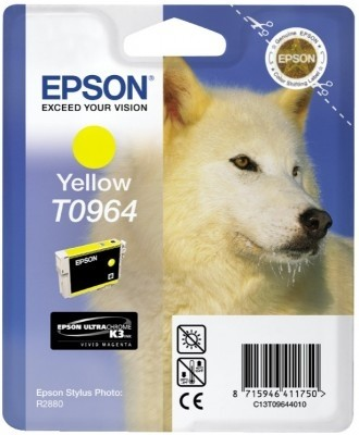 Epson T0964 yellow ink cartridge ORIGINAL