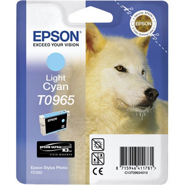 Epson T0965 light cyan ink cartridge ORIGINAL