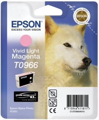 Epson T0966 vivid light magenta ink cartridge ORIGINAL