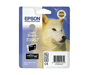 Epson T0967 light black ink cartridge ORIGINAL